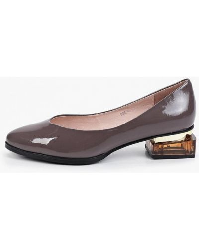 Серые туфли осенние Makfine