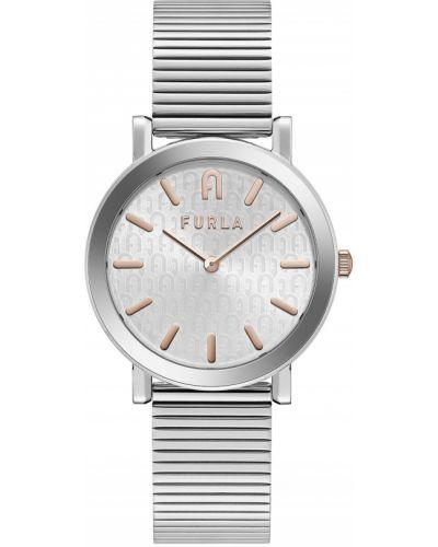 Zegarek kwarcowy srebrny Furla
