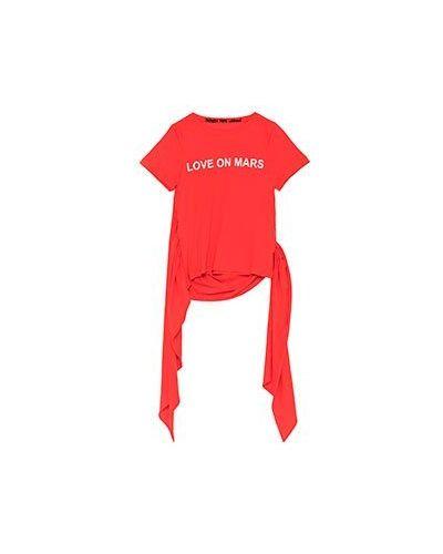 Красная футболка Patrizia Pepe
