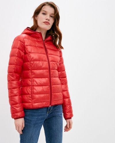 Утепленная красная куртка Q/s Designed By