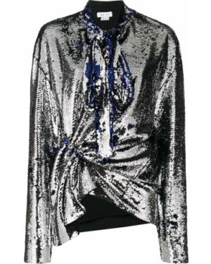 Блузка с длинным рукавом с пайетками с драпировкой Act N°1