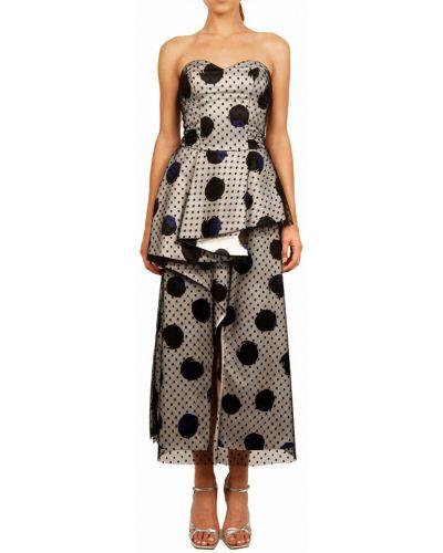 Beżowa sukienka Hanita
