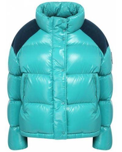 Утепленная куртка на высоких Moncler
