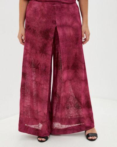 Красные расклешенные брюки Gamelia
