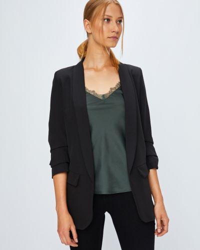 Пиджак с рукавом 3/4 свободный без застежек в стиле кэжуал Haily's
