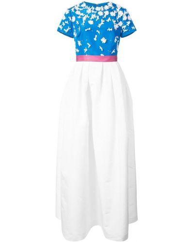 Платье мини приталенное пышное Carolina Herrera
