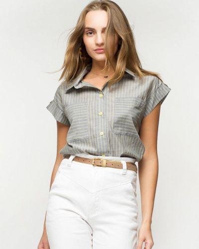 Рубашка с коротким рукавом серая Urban Streets