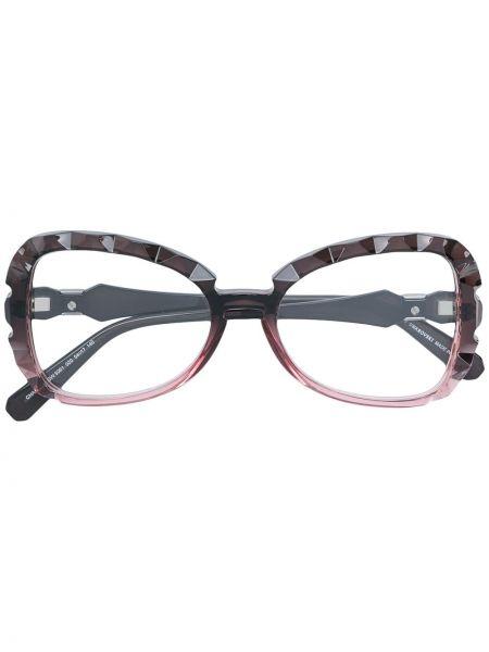 Розовые очки Swarovski Eyewear