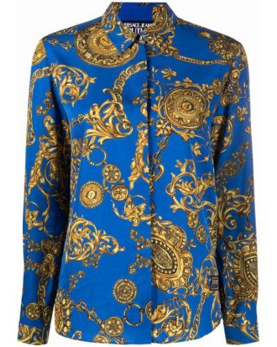 Koszula jeansowa - niebieska Versace Jeans Couture