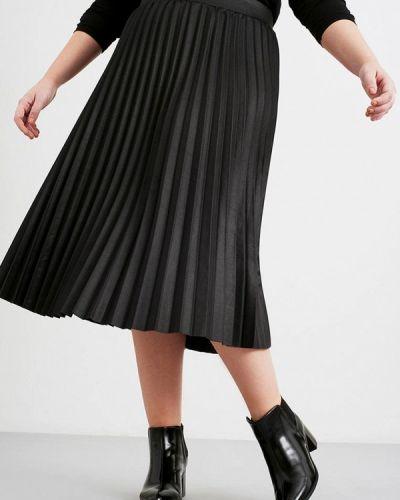 Плиссированная юбка черная пачка Lost Ink Plus