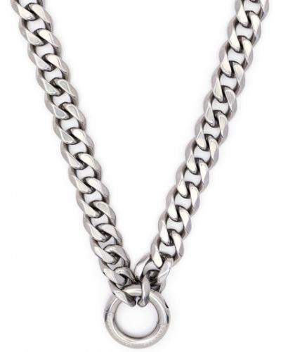 Серебряная цепочка с подвесками металлическая Random Identities