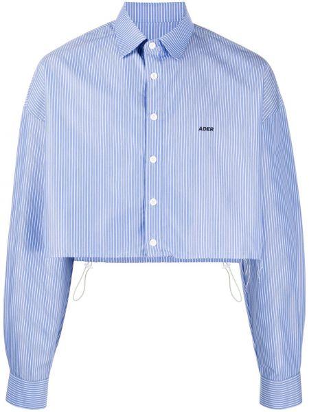 Koszula z printem - niebieska Ader Error