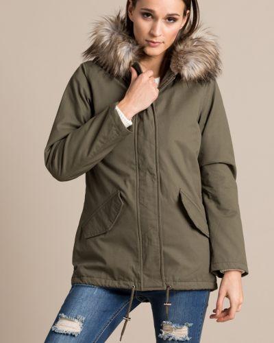 Утепленная куртка с капюшоном Missguided