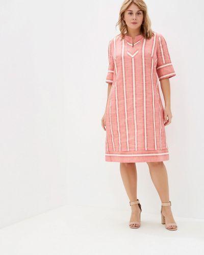 Повседневное платье красный Borboleta