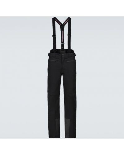 Ciepłe czarne spodnie Fusalp