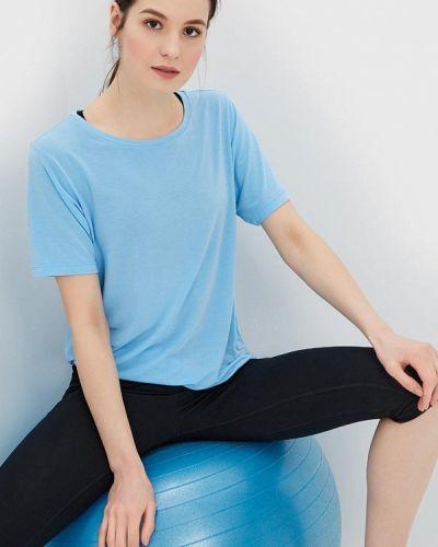 Спортивная футболка голубой Asics