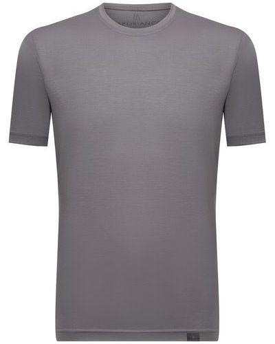 Серая итальянская футболка Capobianco