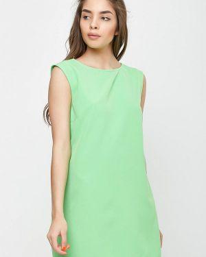 Платье прямое зеленый Sfn