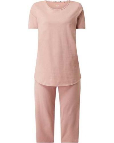 Różowa piżama krótki rękaw Calida