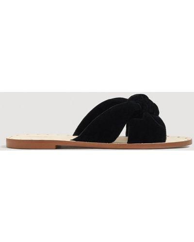 Черные сандалии Mango