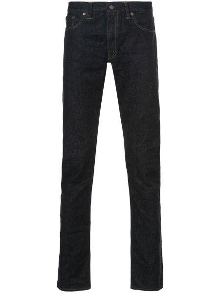 Зауженные джинсы-скинни из микрофибры Rrl