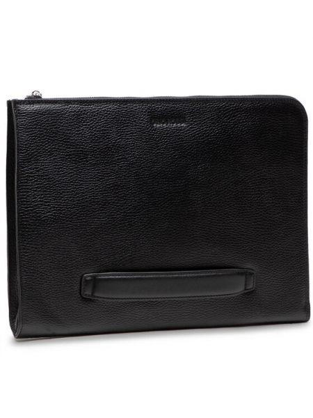 Plecak na laptopa - czarny Gino Rossi