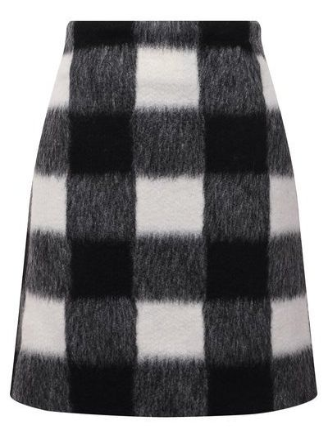 Шерстяная юбка - белая Forte Dei Marmi Couture