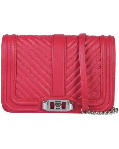 Czerwona torebka mini Rebecca Minkoff