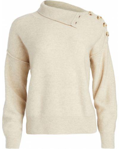 Мягкий кашемировый длинный свитер с длинными рукавами Club Monaco