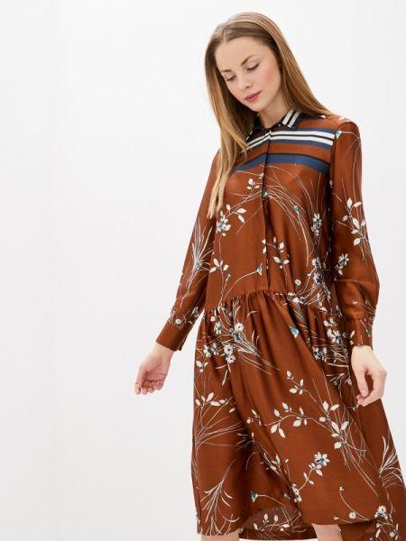 Платье платье-рубашка осеннее Villagi