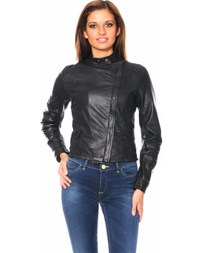 Куртка осенняя черная Mor`a