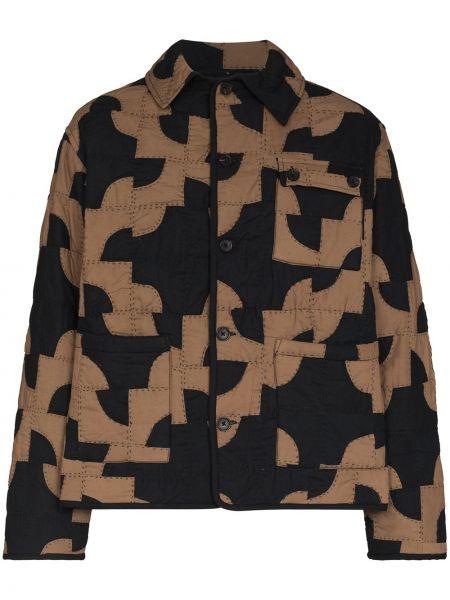 Brązowa kurtka bawełniana Bode