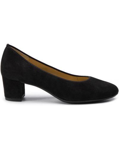 Туфли на каблуке - черные Ara