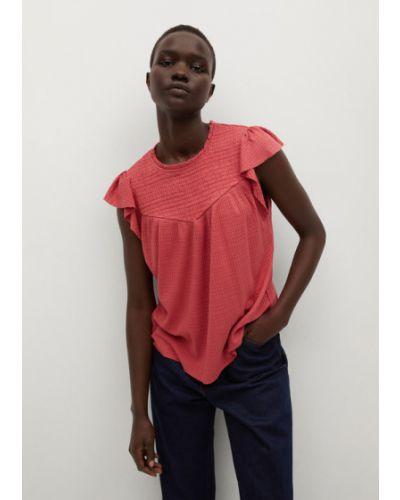 Różowa bluzka Mango