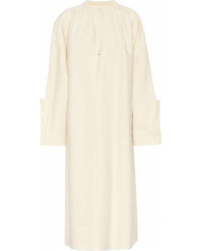 Платье мини макси из вискозы Jil Sander