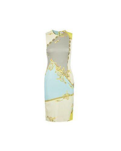 Деловое платье желтый Versace Collection