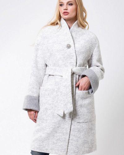 Пальто белое весеннее Sergio Cotti