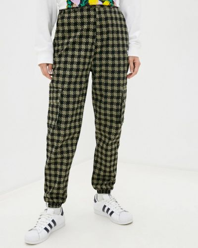 Зеленые брюки карго Adidas Originals