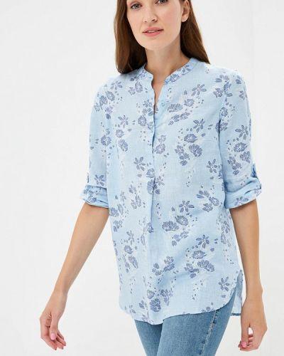 Голубая блузка с длинным рукавом Iwie