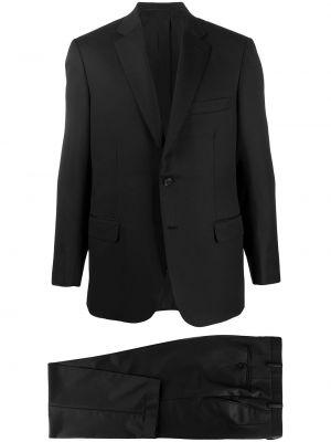 Пиджак длинный - черный Brioni