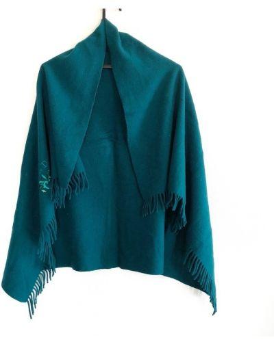 Niebieski szalik Dior Vintage