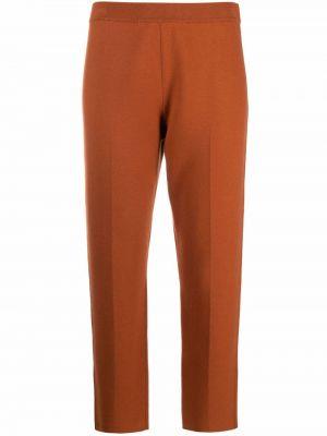 Укороченные брюки - оранжевые Theory