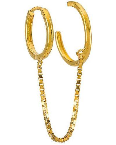 Złote kolczyki ze złota Baublebar