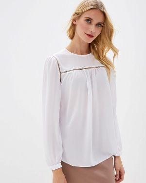 Блузка с длинным рукавом белая весенний Vittoria Vicci