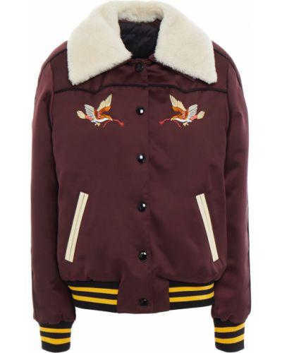 Кожаная куртка с воротником Coach