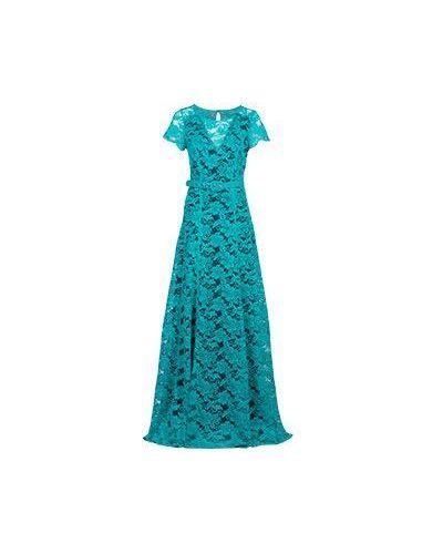 Зеленое вечернее платье Elisa Fanti