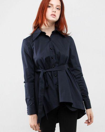Блузка с длинным рукавом синяя 7arrows