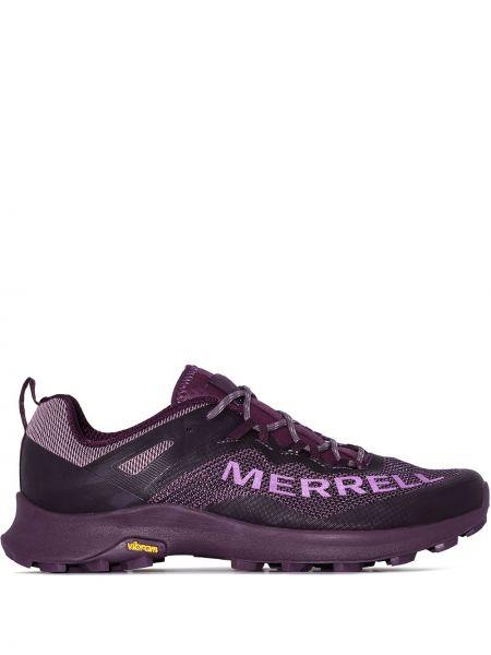 Фиолетовые текстильные кроссовки Merrell