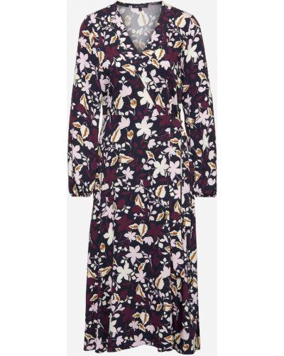 Платье миди с цветочным принтом на молнии Marc O`polo