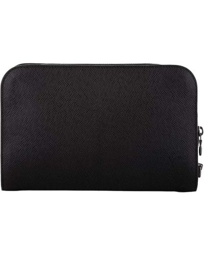 Czarna kopertówka srebrna Louis Vuitton